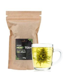 Kanapiu ziedu ir lapu arbata Natural Line