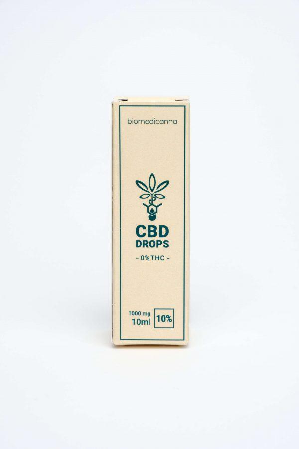 cbd drops 10% biomedianna 0% thc