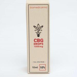 cbg oil drops biomedicanna 10%